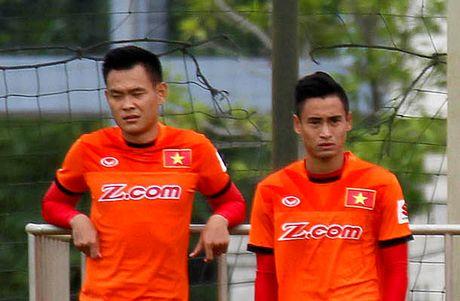 Bo om nang, Vu Minh Tuan vang mat tran ban ket luot di AFF Cup 2016 - Anh 1