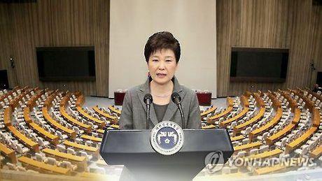 """Dang cam quyen Han Quoc """"goi y"""" ba Park Geun-hye tu chuc som - Anh 1"""
