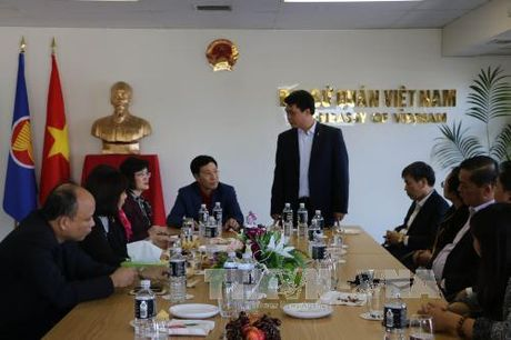 Pho Thu tuong Pham Binh Minh tham chinh thuc New Zealand - Anh 2
