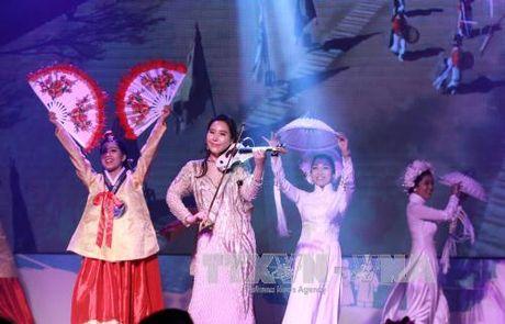 Khai mac le hoi giao luu Viet Nam – Han Quoc - Anh 1