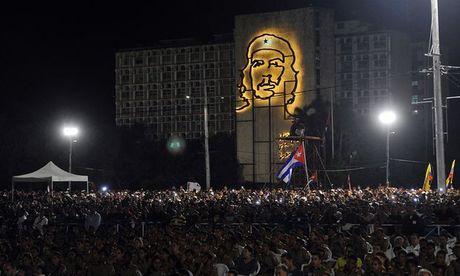 Cam dong nguoi dan Cuba noi loi tam biet lanh tu Fidel Castro - Anh 9