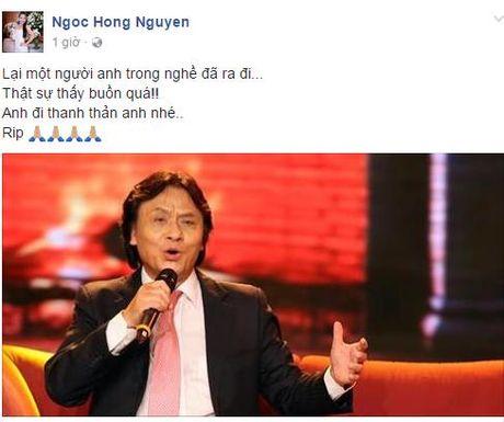 Nghe si Viet tiec thuong truoc su ra di cua NSUT Quang Ly - Anh 2