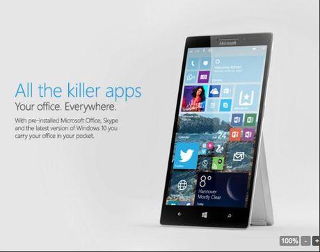 Surface Phone bat dau di vao san xuat thu nghiem - Anh 1