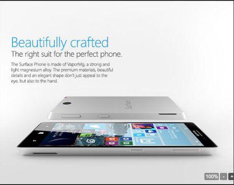Surface Phone bat dau di vao san xuat thu nghiem - Anh 2