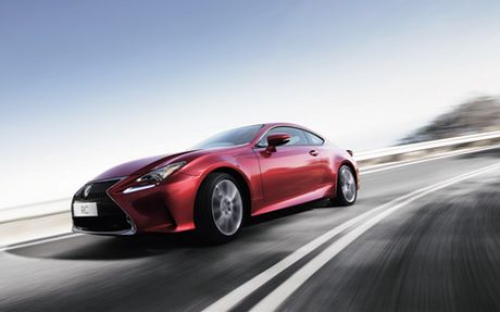 Lexus RC Turbo gia gan 3 ty dong - Anh 6