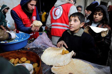 Can canh ben trong khu vuc vua duoc giai phong o Aleppo - Anh 4