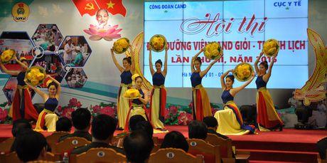 Khai mac hoi thi Dieu duong vien CAND gioi, thanh lich - Anh 1