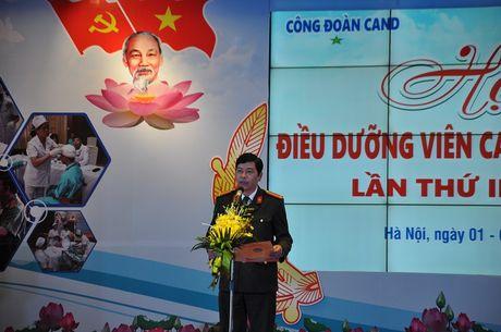 Khai mac hoi thi Dieu duong vien CAND gioi, thanh lich - Anh 4