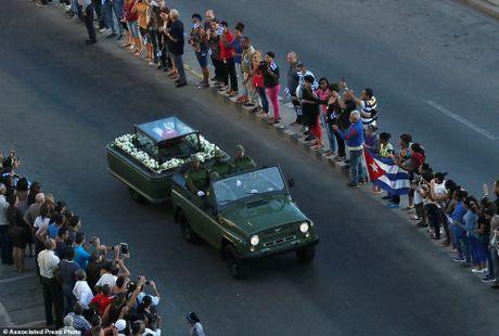 Cuba: Tien hanh le ruoc tro cot cua Lanh tu Cach mang Fidel Castro - Anh 1