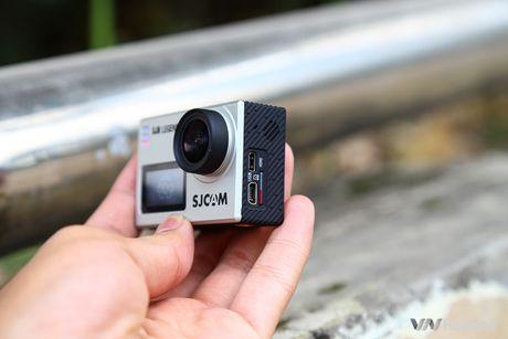 Danh gia camera hanh dong SJCAM SJ6 Legend: 2 man hinh, quay 4K, 4 trieu dong - Anh 6
