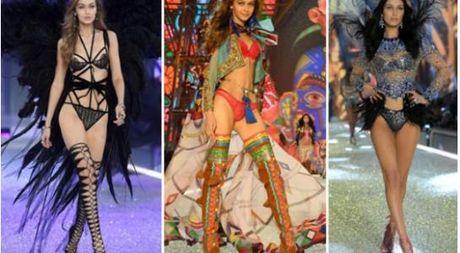 Show dien bikini nong bong va day mau sac cua Victoria's Secret - Anh 1