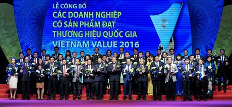 88 doanh nghiep duoc vinh danh Thuong hieu Quoc gia - Anh 2
