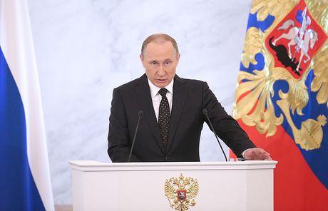 Kremlin: Thong diep lien bang 2016 cua Putin se 'khac biet' - Anh 1