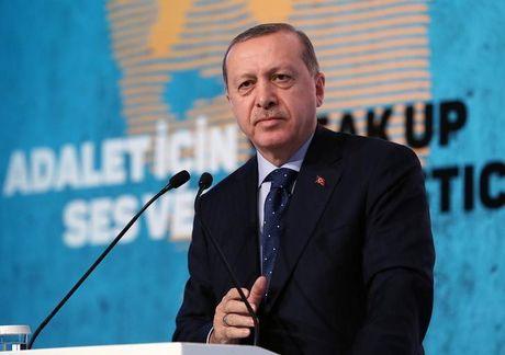 Erdogan da giai thich voi Putin ve tuyen bo lat do Tong thong Syria - Anh 1