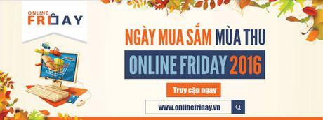 Ngay hoi mua sam Online Friday chinh thuc tu 0h ngay 2/12 - Anh 1