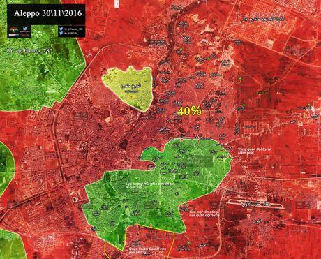 Video chien su Aleppo: Quan doi Syria giai phong them 1 quan moi, phe thanh chien cung duong - Anh 2
