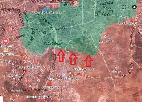 Chien su Aleppo: Quan doi Syria tan cong du doi, phe thanh chien sap nhap doi pho - Anh 2