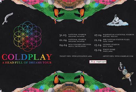 Fan chau A soi suc 'san' ve tung gio truoc tour dien cua nhom Coldplay - Anh 2