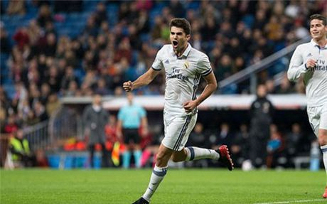 Con trai Zidane ghi ban, Real chay da hoan hao cho El Clasico - Anh 1