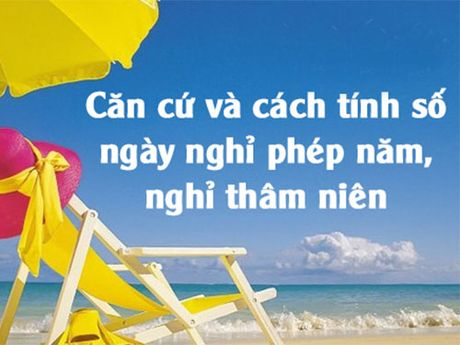 Ngay phep, co duoc cong theo tham nien cong tac? - Anh 1