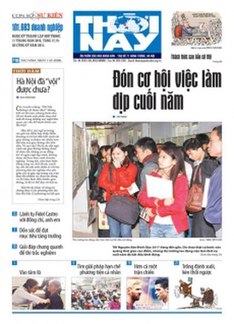 Don doc Thoi Nay so 718, phat hanh thu nam, ngay 1-12 - Anh 1