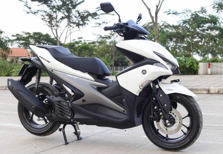 Yamaha NVX co gia tu 45 trieu tai Viet Nam - Anh 1
