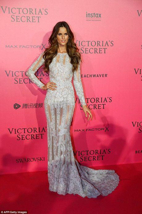 Bella Hadid mac phan cam o tiec Victoria's Secret 2016 - Anh 9