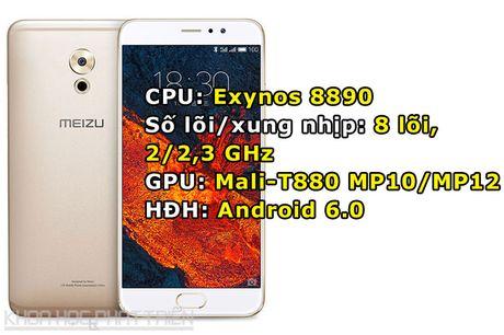 Chiem nguong ve dep cua Meizu Pro 6 Plus vua ra mat - Anh 1
