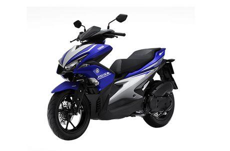Yamaha cong bo gia ban xe tay ga 155cc moi o Viet Nam - Anh 2