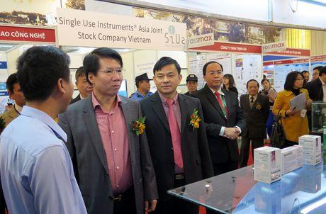 Vietnam Medi Pharm Expo 2016 chung kien nhieu thanh tuu y hoc cua Viet Nam va the gioi - Anh 5