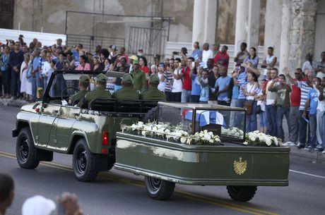 Tro cot cua lanh tu Fidel Castro bat dau hanh trinh vuot 800km tro ve 'cai noi' cach mang Cuba - Anh 5