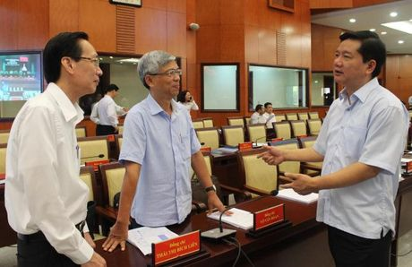 Be mac Hoi nghi Thanh uy lan thu 8: Hop luc de vuot kho - Anh 3