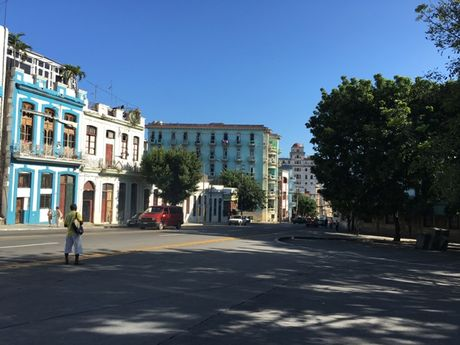 Duong pho o Cuba vang lang trong nhung ngay quoc tang Lanh tu Fidel - Anh 7