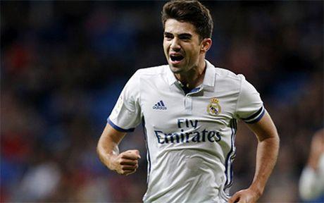 The thao 24h: Con trai cua Zidane ghi ban, Real dai thang Leonesa - Anh 1
