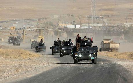 Iraq gianh duoc thang loi moi trong chien dich giai phong Mosul - Anh 1