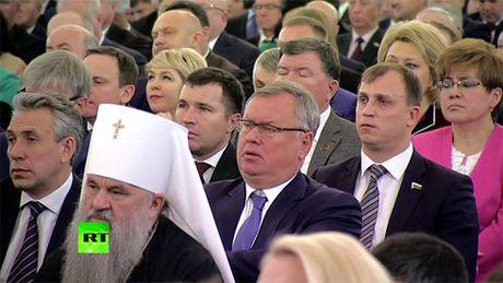 Thong diep Lien bang cua ong Putin de cap den nhieu van de toan cau - Anh 4