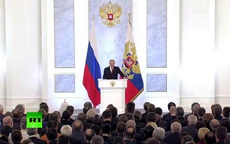 Thong diep Lien bang cua ong Putin de cap den nhieu van de toan cau - Anh 5