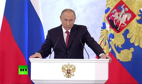 Thong diep Lien bang cua ong Putin de cap den nhieu van de toan cau - Anh 8