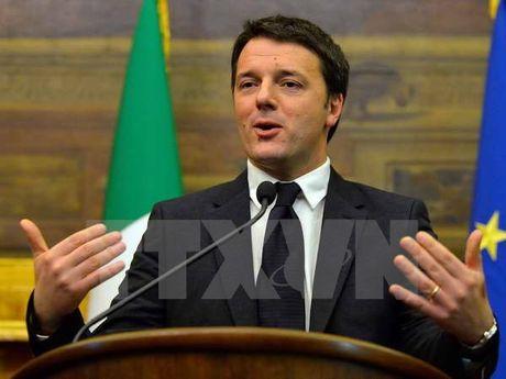 Thu tuong Italy tuyen bo se phu quyet ke hoach ngan sach cua EU - Anh 1