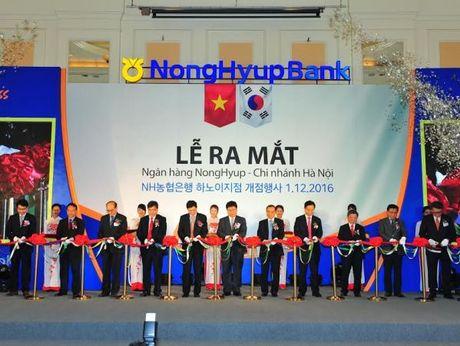 Ngan hang Nonghyup Han Quoc thanh lap chi nhanh tai Ha Noi - Anh 1