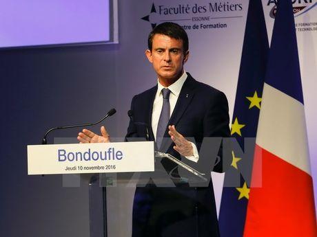 Thu tuong Phap Manuel Valls nhieu kha nang dai dien cho canh ta - Anh 1