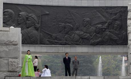 Dat nuoc Trieu Tien qua anh Reuters - Anh 13