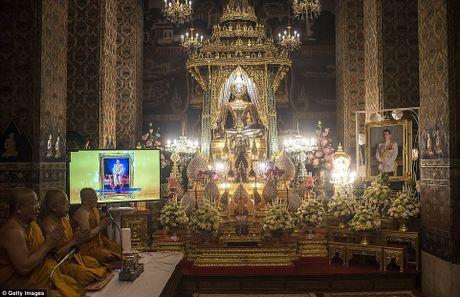 Hinh anh tan Quoc vuong Thai Lan trong ngay dang co - Anh 6