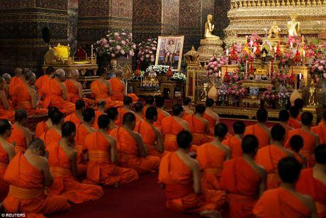 Hinh anh tan Quoc vuong Thai Lan trong ngay dang co - Anh 7