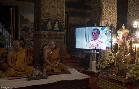 Hinh anh tan Quoc vuong Thai Lan trong ngay dang co - Anh 8