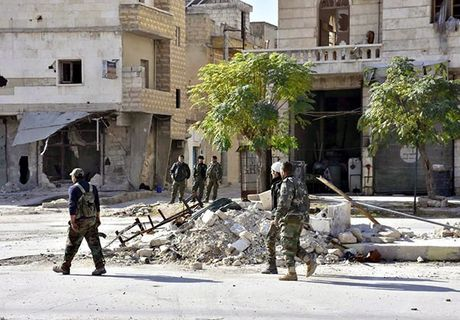 Quan doi Syria thang nhu che tre o Dong Aleppo - Anh 1