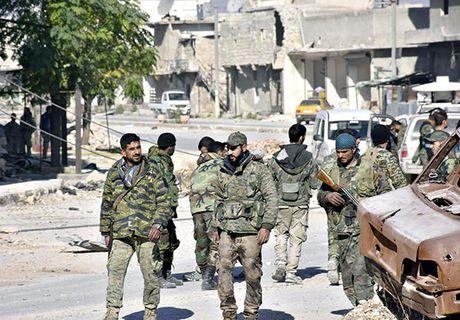 Quan doi Syria thang nhu che tre o Dong Aleppo - Anh 2