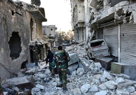 Quan doi Syria thang nhu che tre o Dong Aleppo - Anh 3