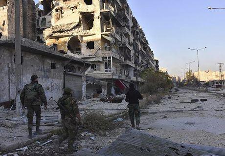 Quan doi Syria thang nhu che tre o Dong Aleppo - Anh 4