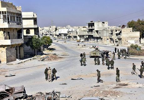 Quan doi Syria thang nhu che tre o Dong Aleppo - Anh 7